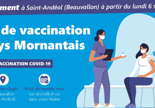 Le Centre de vaccination du Pays Mornantais déménage…