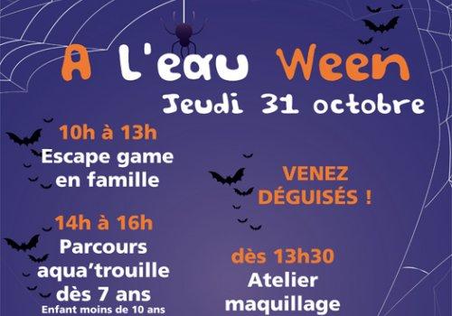 Fêter Halloween aux Bassins de l'Aqueduc