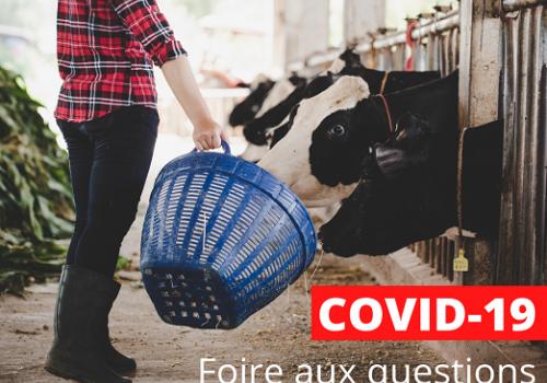 Agriculteurs, une FAQ pour vous aider