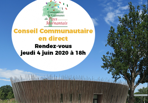 Conseil communautaire du 4 juin 2020
